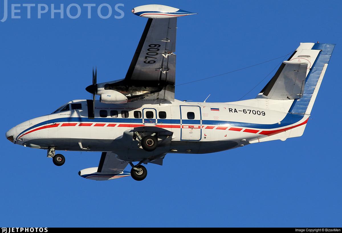 RA-67009 - Let L-410UVP-E20 Turbolet - Petropavlovsk-Kamchatskoe Aviation Enterprise