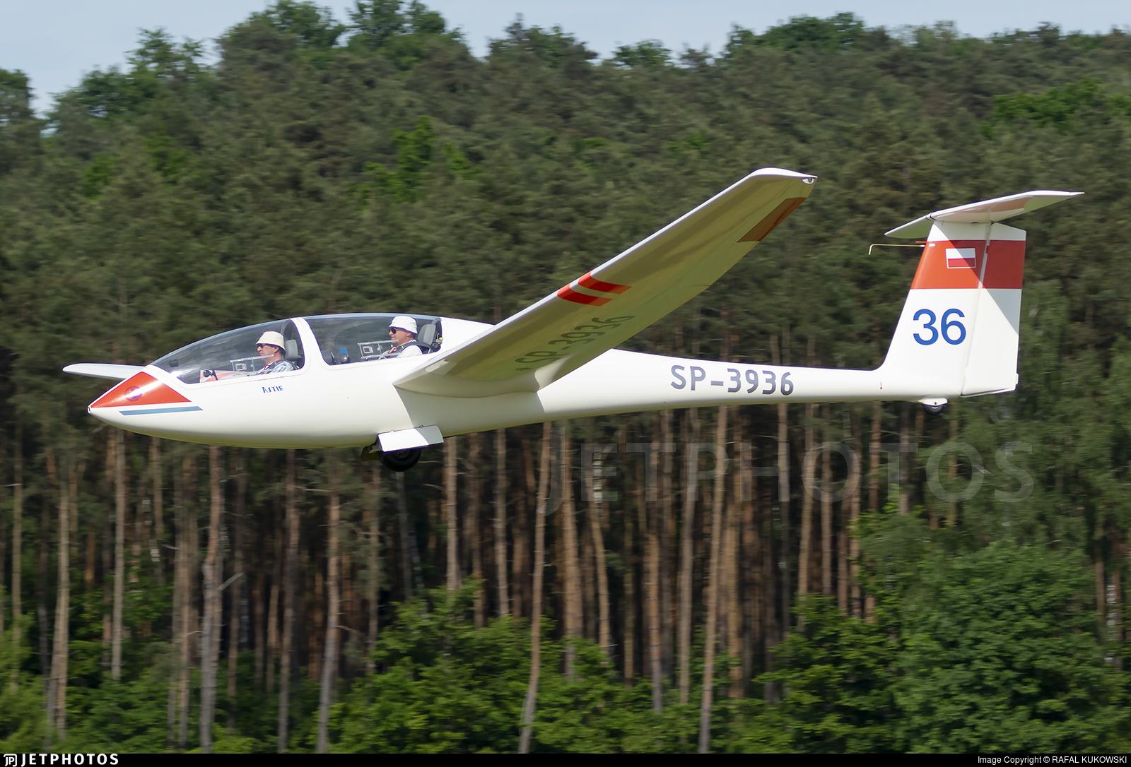 SP-3936 - Grob G-103 Twin Astir - Private