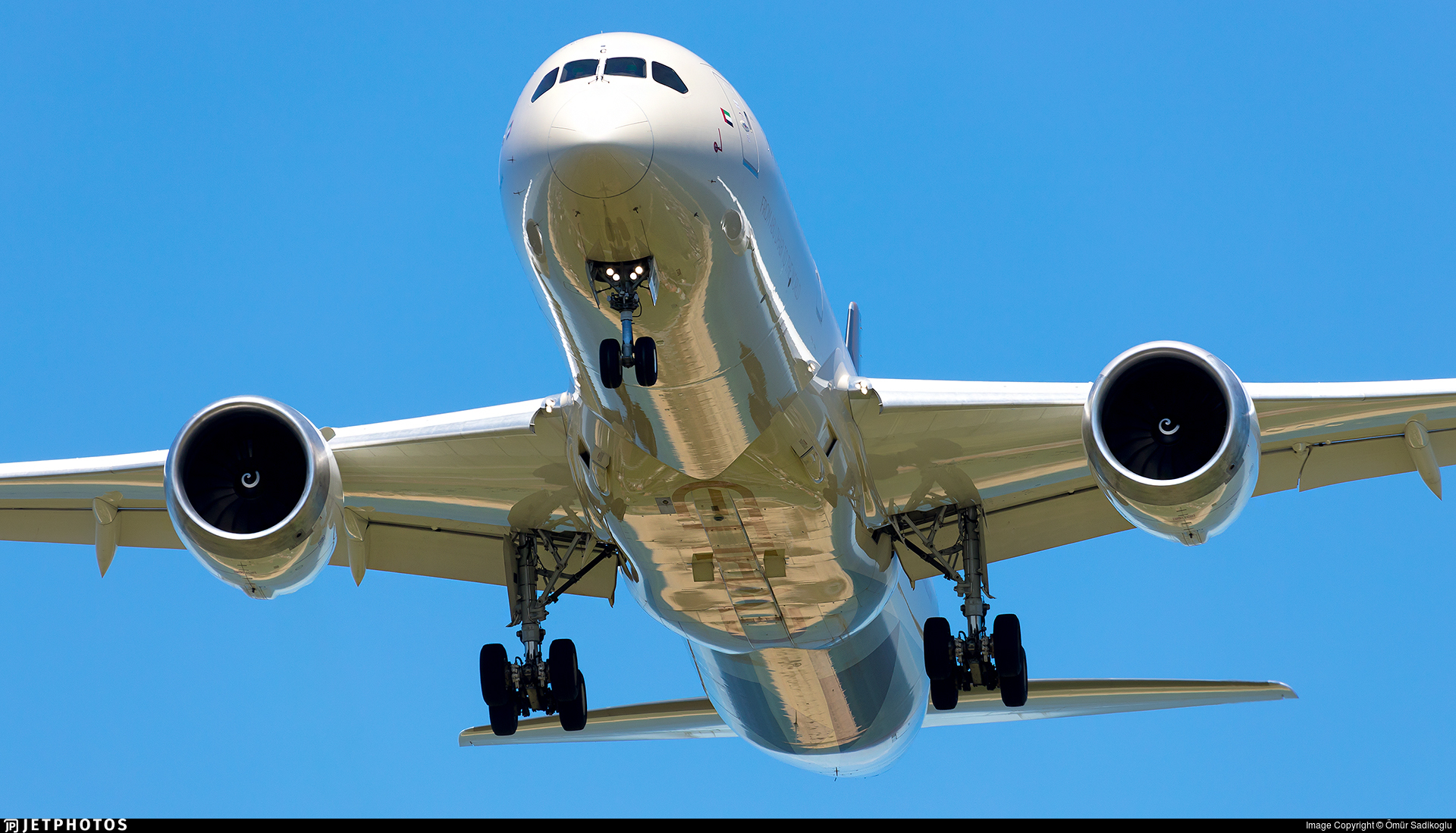 A6-BNC - Boeing 787-9 Dreamliner - Etihad Airways