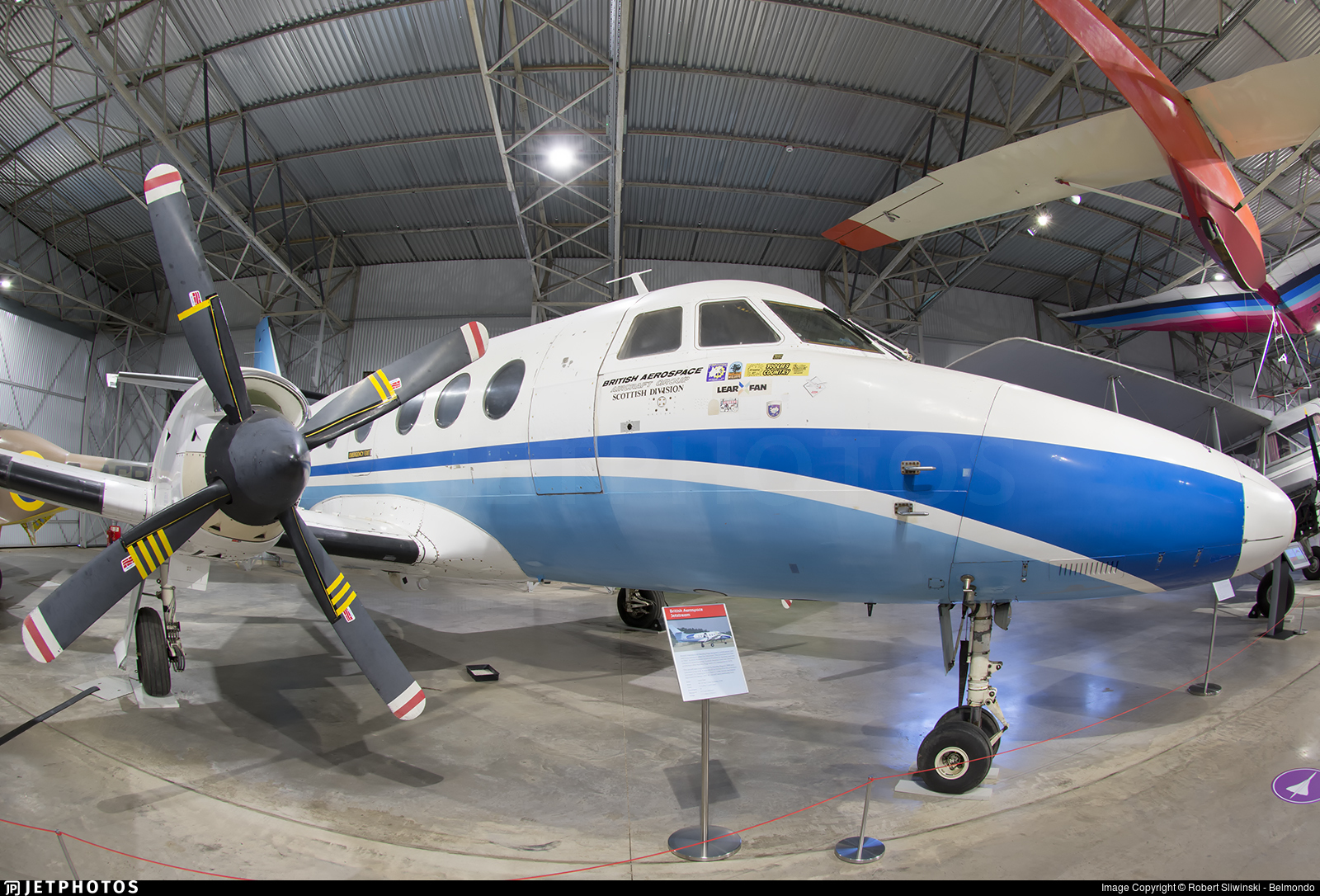 G-JSSD - Handley Page Jetstream HP 137 - BAe Systems