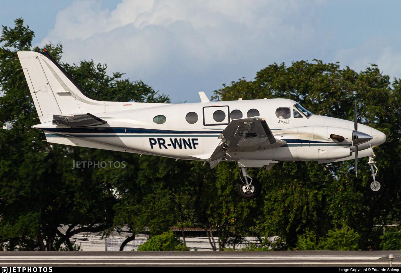 PR-WNF - Beechcraft C90A King Air - Private