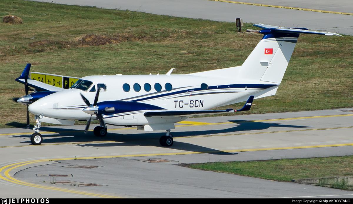 TC-SCN - Beechcraft B200GT Super King Air - Private