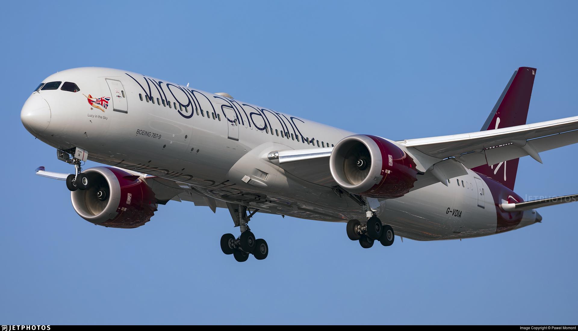 G-VDIA - Boeing 787-9 Dreamliner - Virgin Atlantic Airways