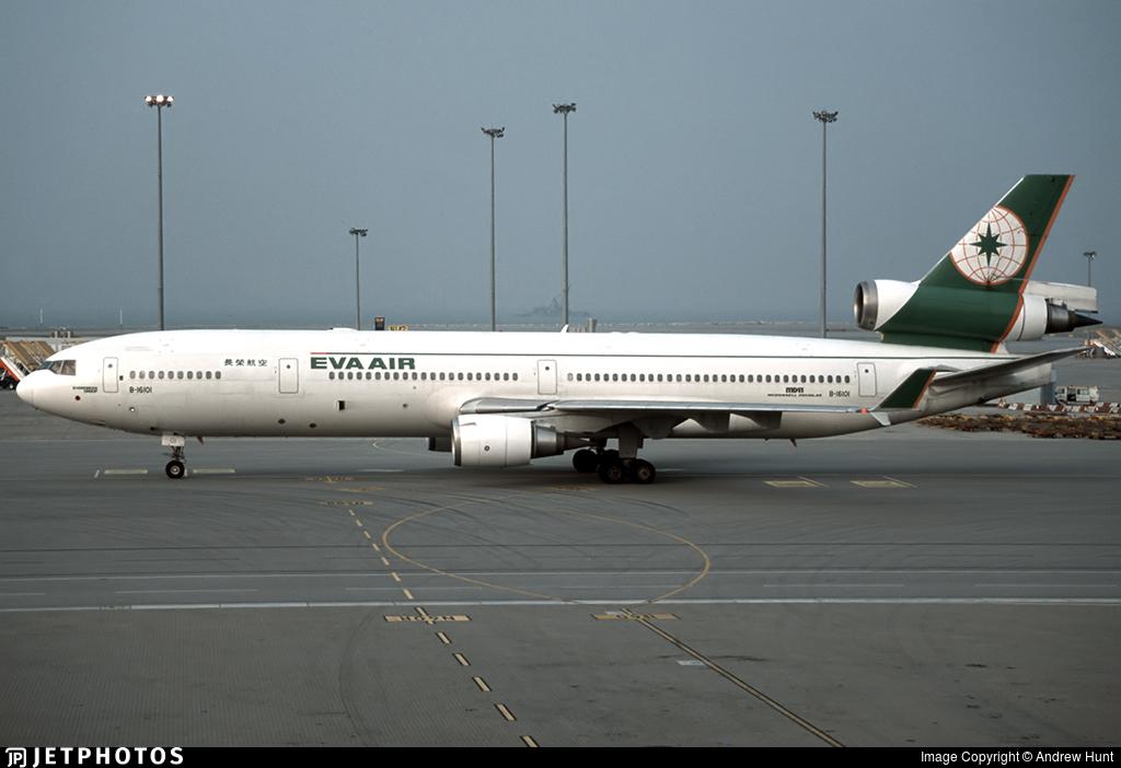 B-16101 - McDonnell Douglas MD-11 - Eva Air