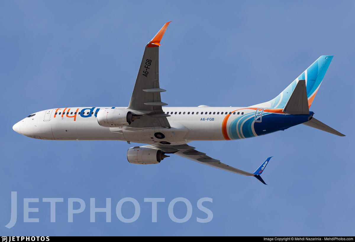 A6-FGB - Boeing 737-8KN - flydubai