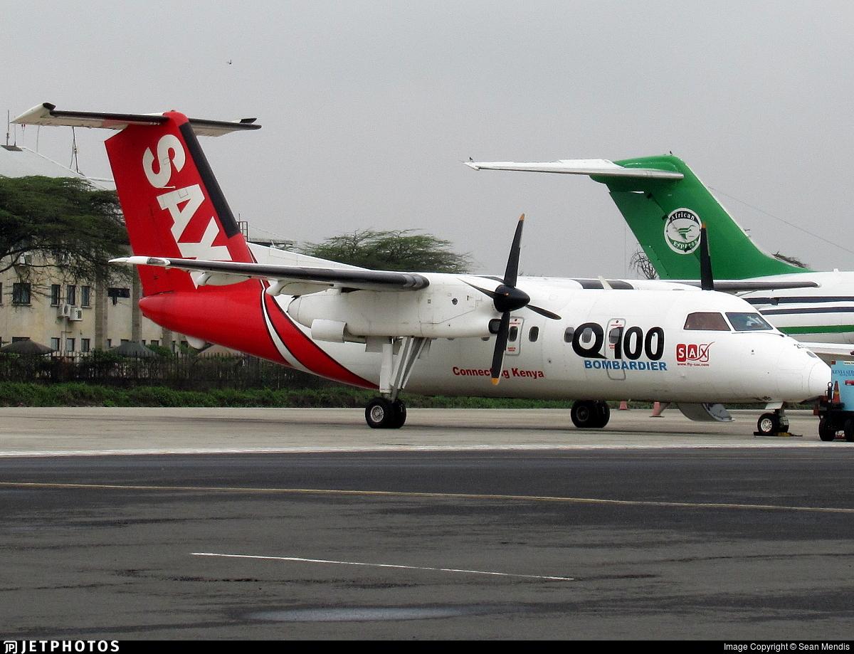 5Y-BUZ - Bombardier Dash 8-102 - Fly-Sax