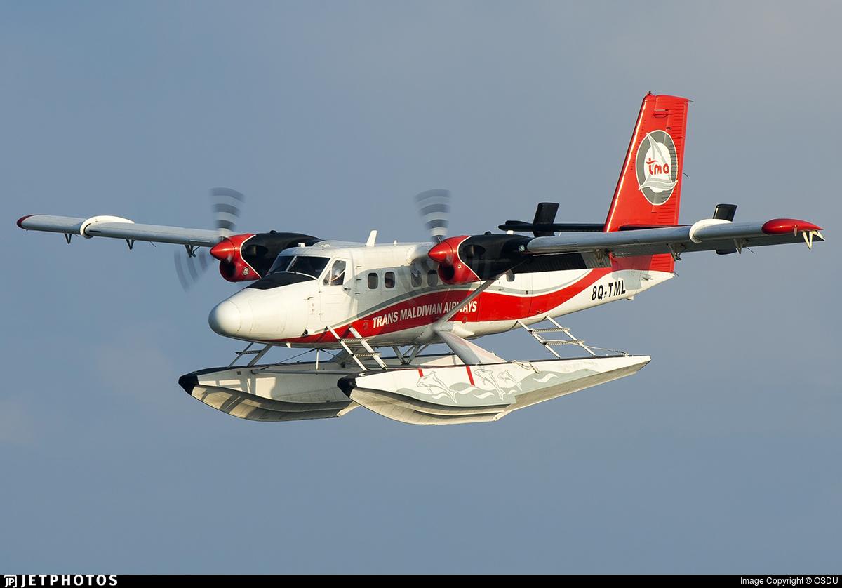 8Q-TML - De Havilland Canada DHC-6-300 Twin Otter - Trans Maldivian Airways
