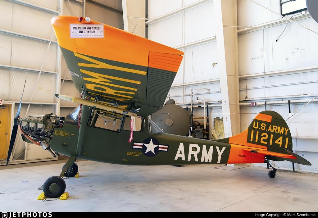 N305MV - Cessna 305A Bird Dog - Private