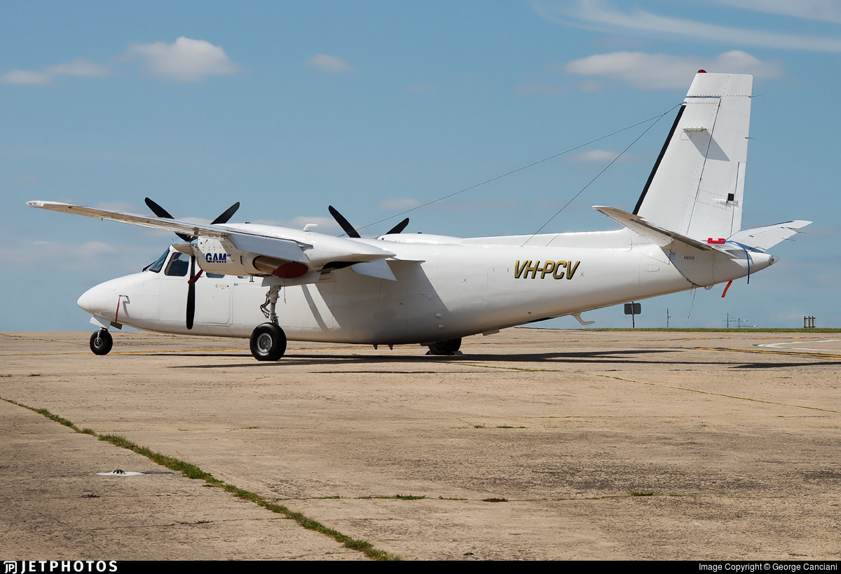 VH-PCV - Rockwell 690A Turbo Commander - General Aviation Maintenance (GAM)