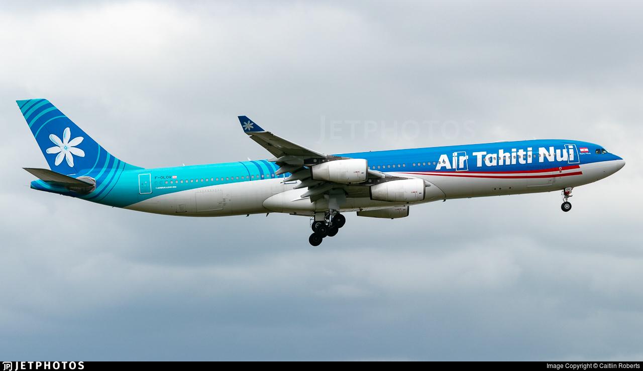 F-OLOV - Airbus A340-313E - Air Tahiti Nui