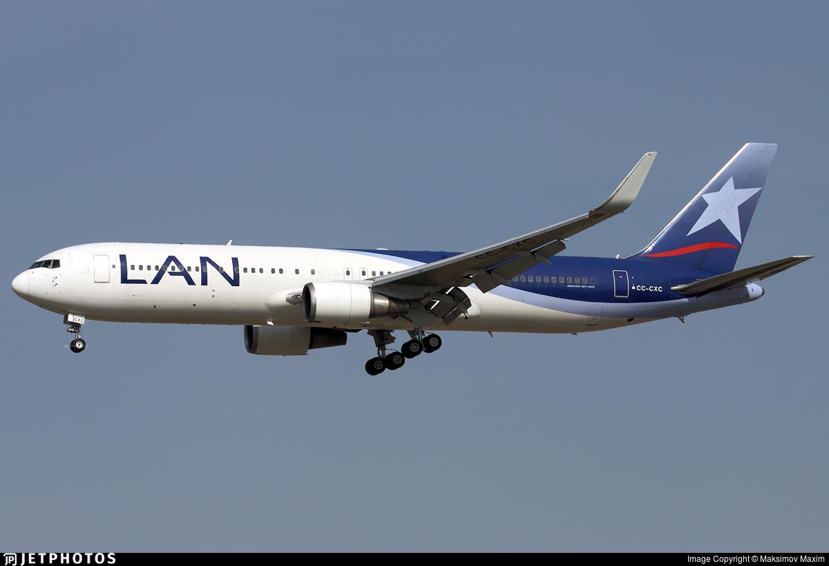 CC-CXC - Boeing 767-316(ER) - LAN Airlines