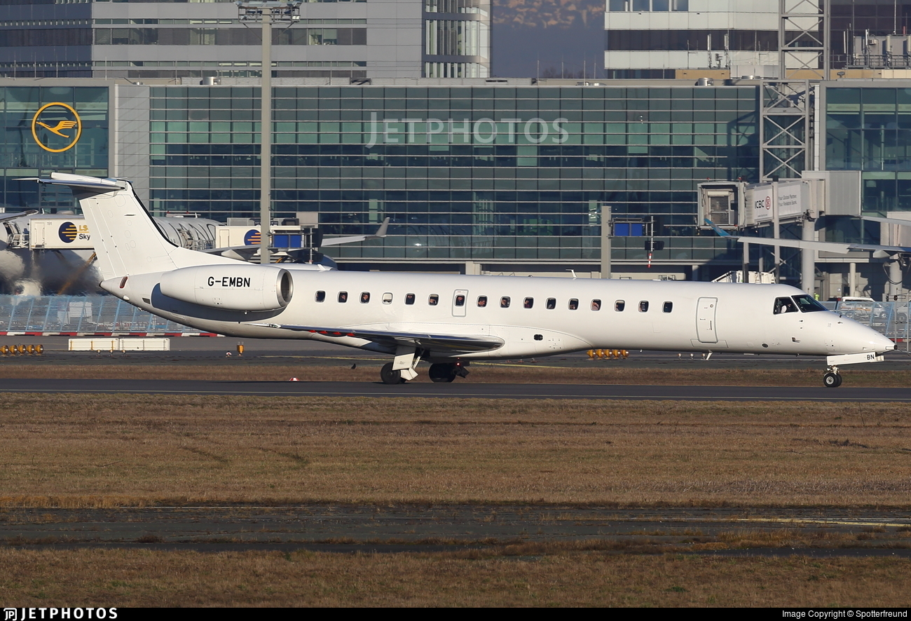 G-EMBN - Embraer ERJ-145EP - bmi Regional