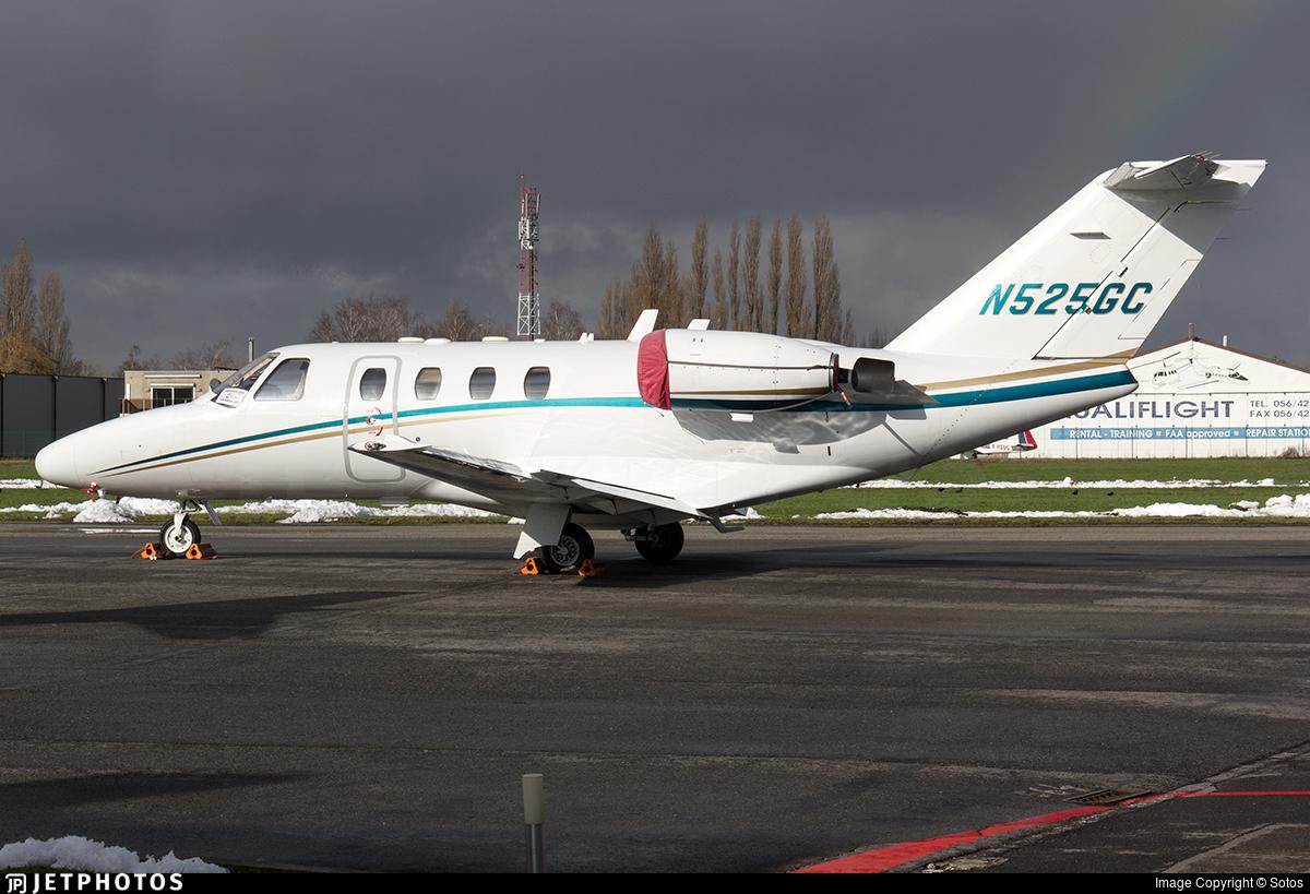 N525GC - Cessna 525 CitationJet 1 - Private