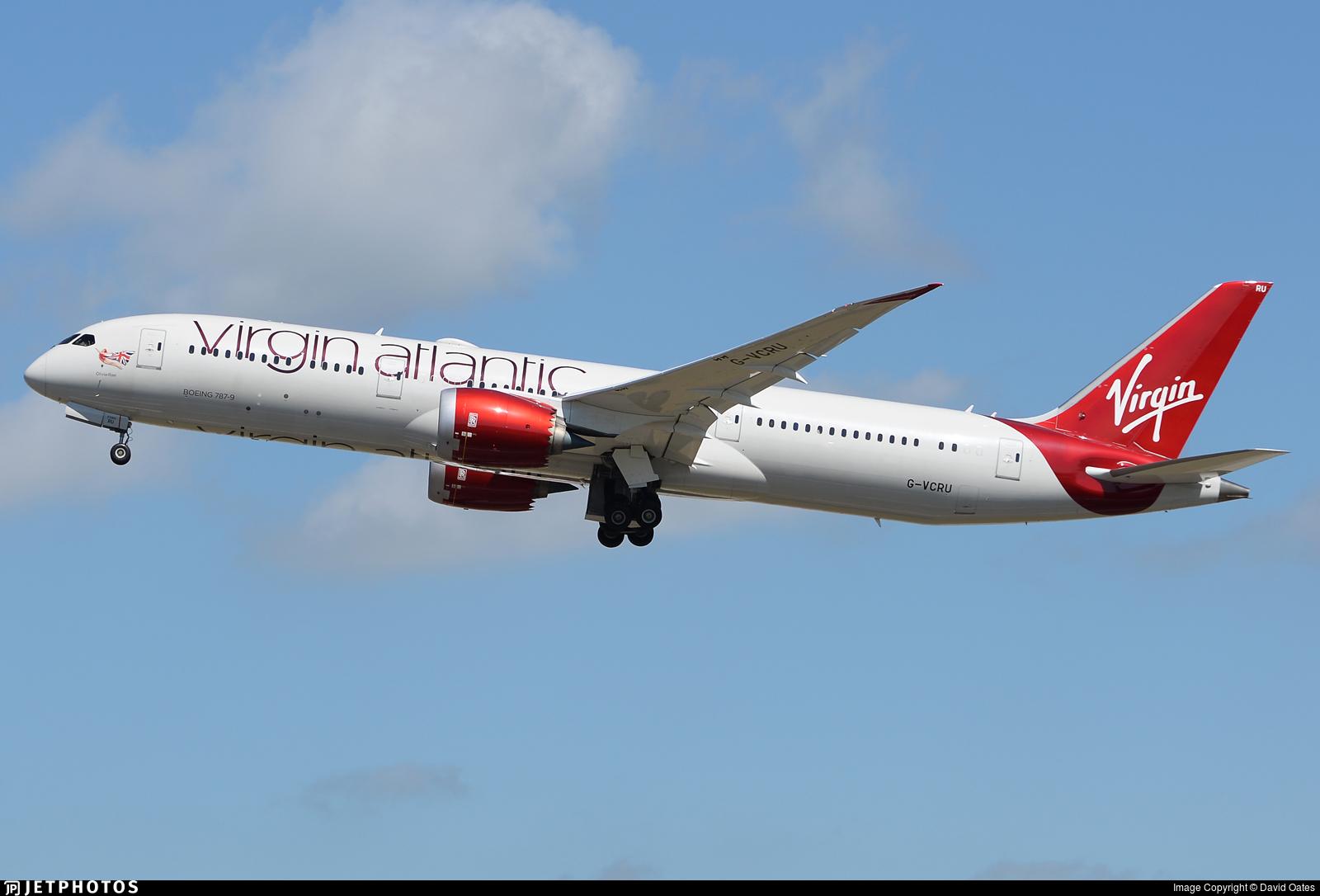 G-VCRU - Boeing 787-9 Dreamliner - Virgin Atlantic Airways