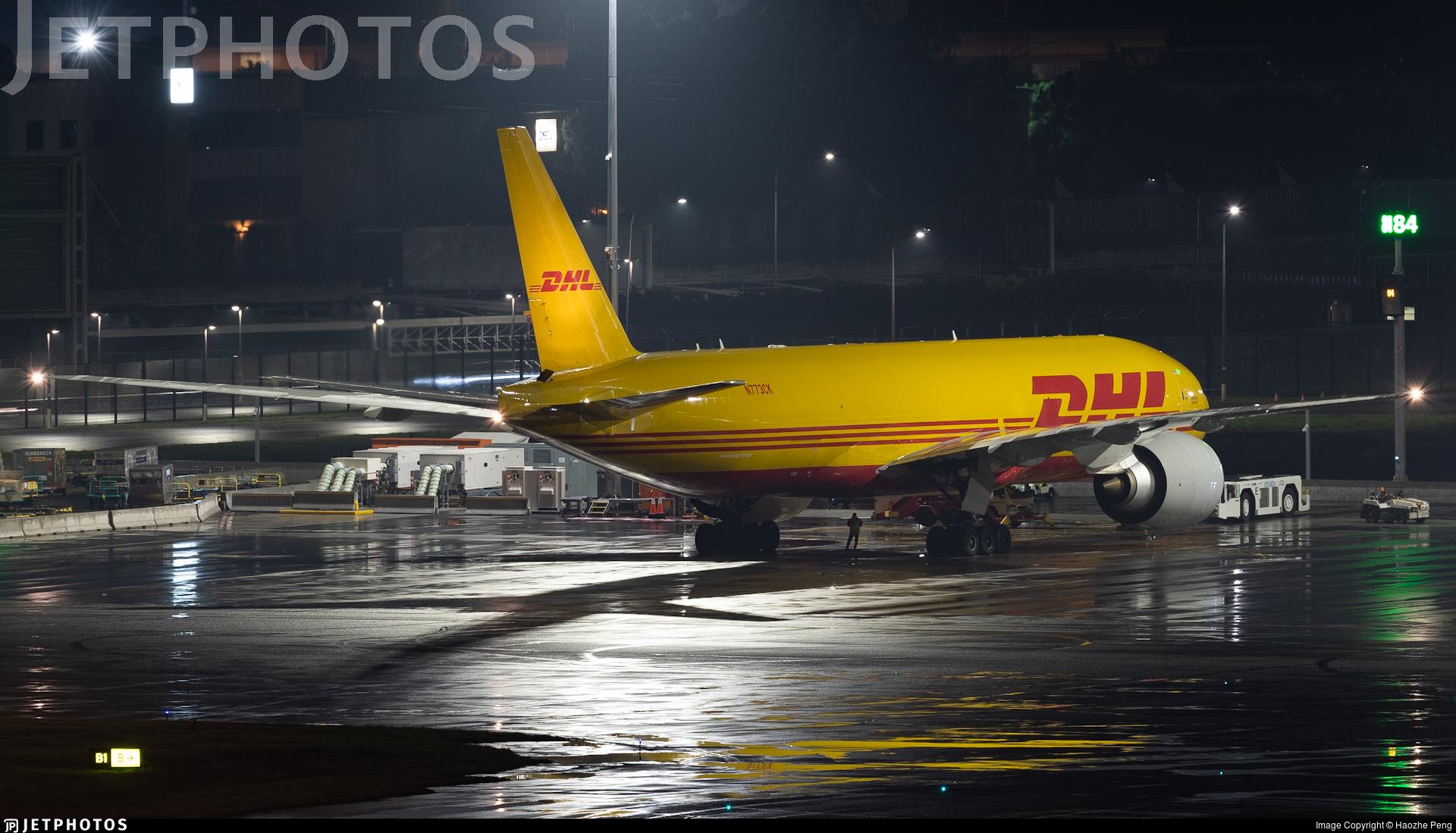 N773CK - Boeing 777-FBL - DHL (Kalitta Air)
