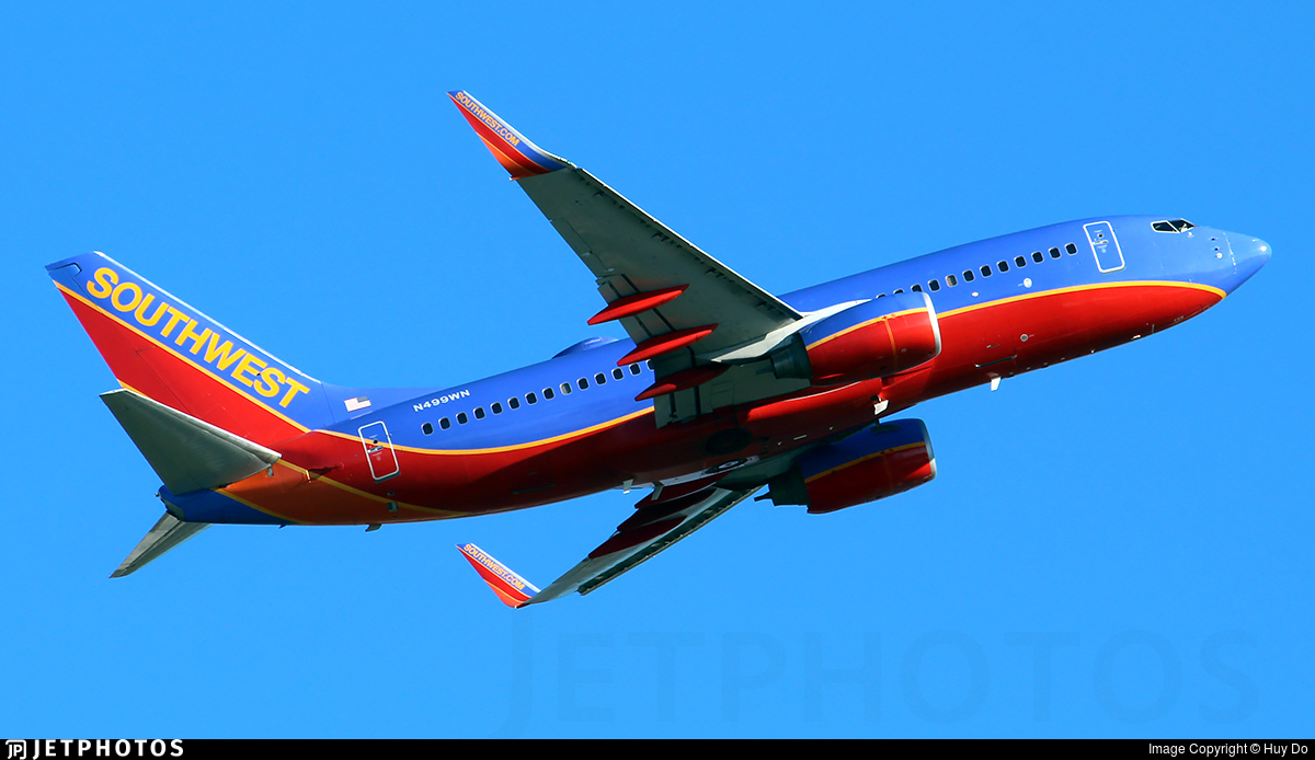 N499WN - Boeing 737-7H4 - Southwest Airlines