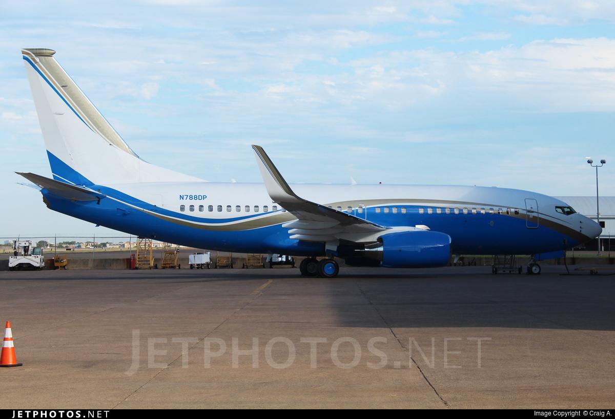 N788DP - Boeing 737-79U(BBJ) - Private