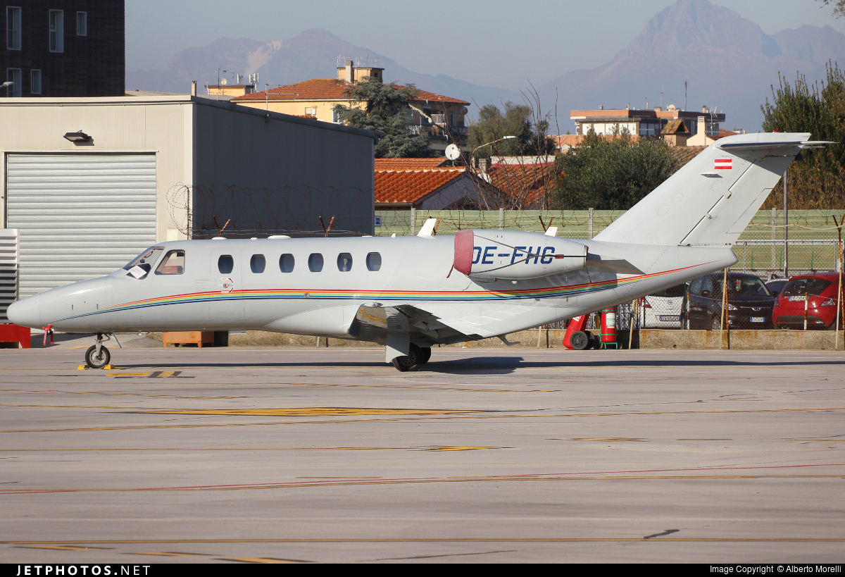 OE-FHC - Cessna 525A CitationJet 2 Plus - Avcon Jet