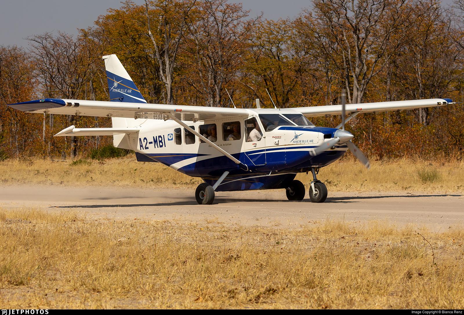 A2-MBI - Gippsland GA-8 Airvan - Major Blue Air