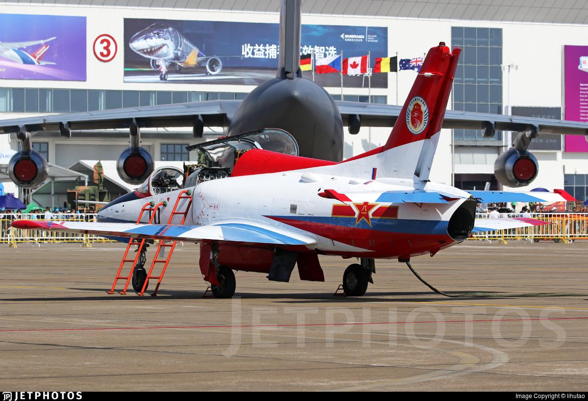 10 - Hongdu JL-8 Karakorum - China - Air Force