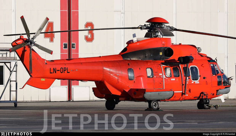 LN-OPL - Aérospatiale AS 332L1 Super Puma - CHC Norway