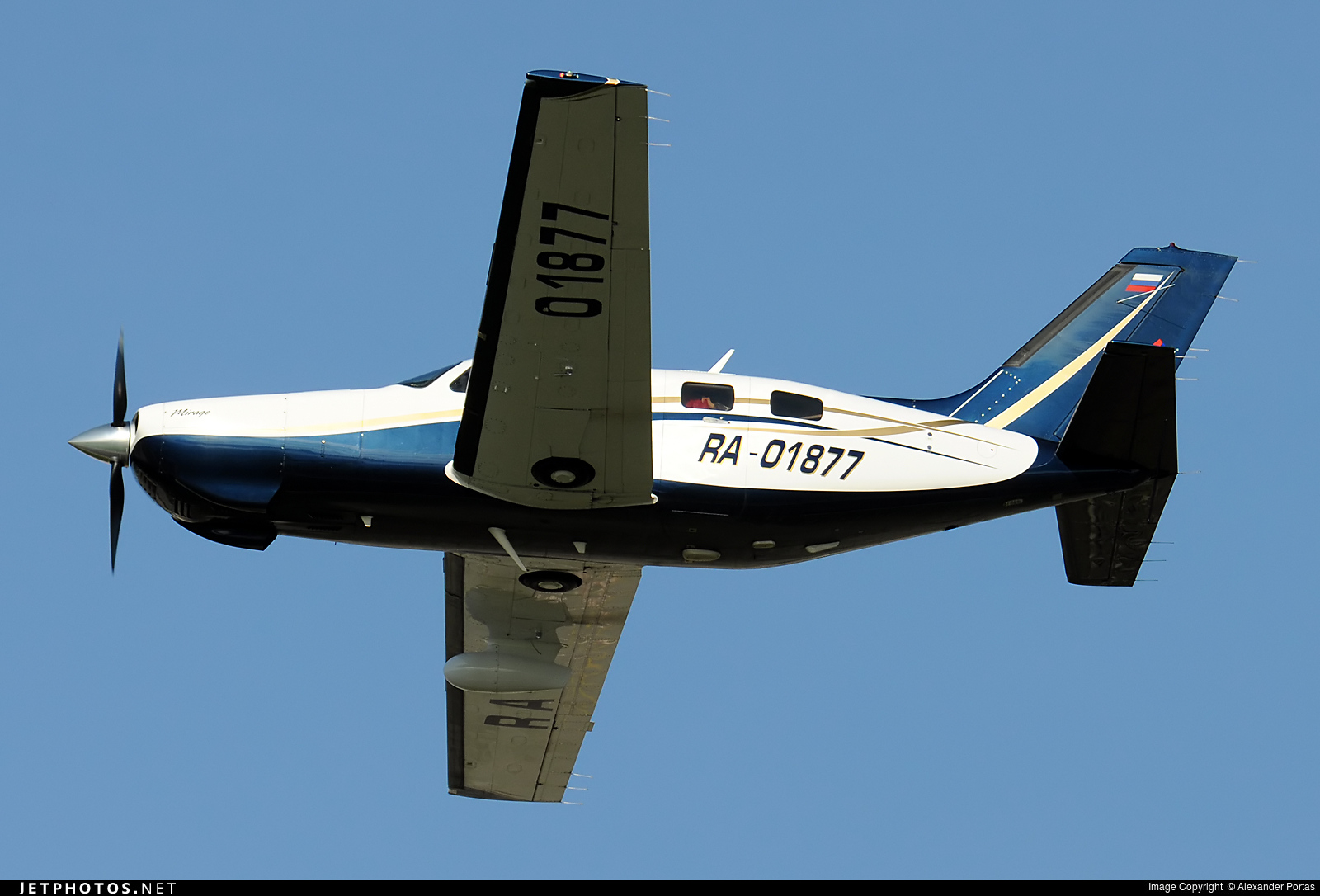RA-01877 - Piper PA-46-350P Malibu Mirage - Private