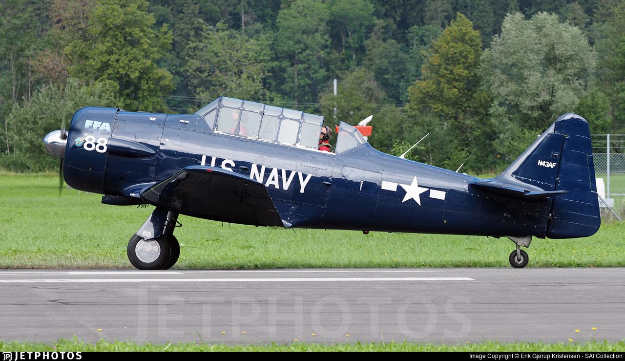 N43AF - North American SNJ-5 Texan - FFA Museum Altenrhein
