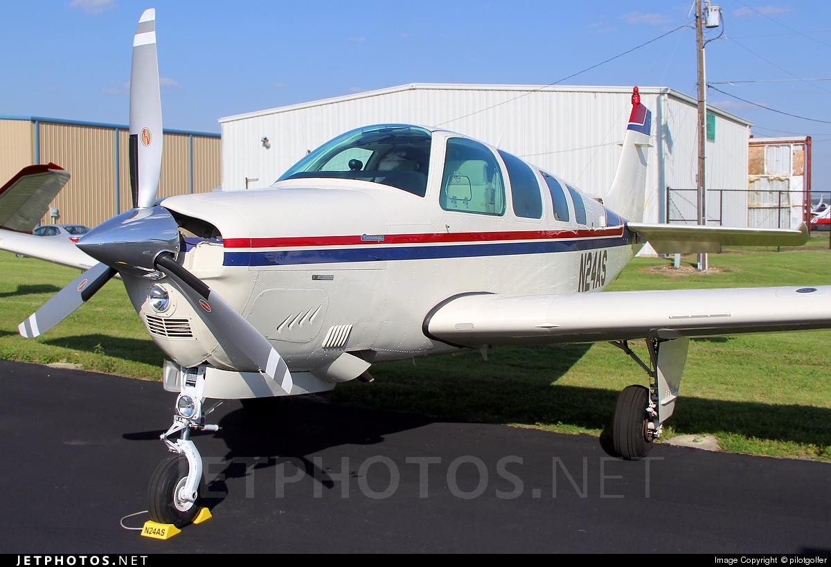 N24AS - Beechcraft A36 Bonanza - Private