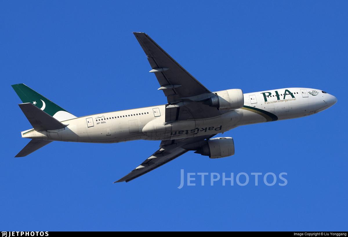 AP-BGL - Boeing 777-240(ER) - Pakistan International Airlines (PIA)