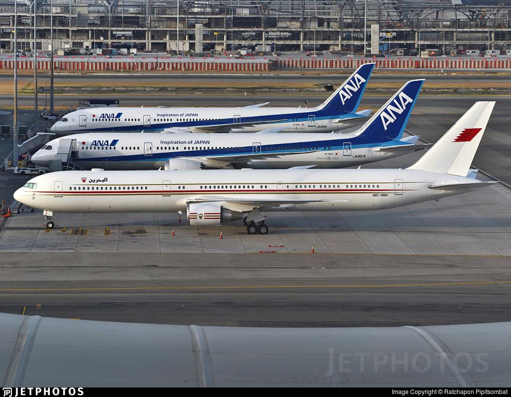 A9C-HMH - Boeing 767-4FS(ER) - Bahrain - Royal Flight