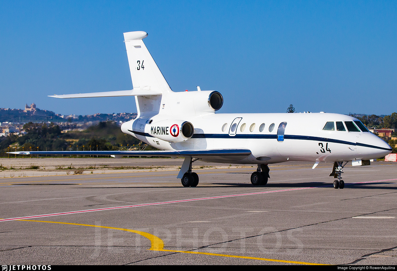 34 - Dassault Falcon 50M - France - Navy