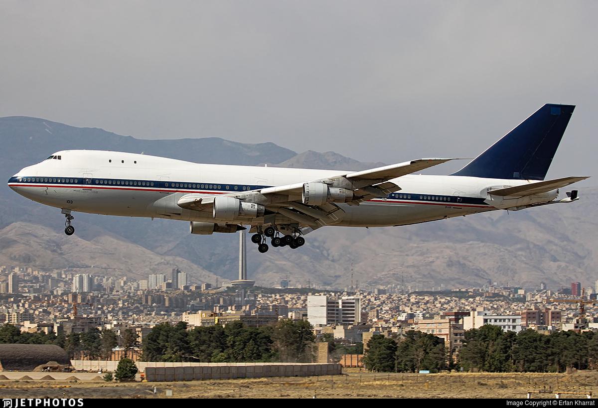 5-8103 - Boeing 747-131(SF) - Caspian Airlines