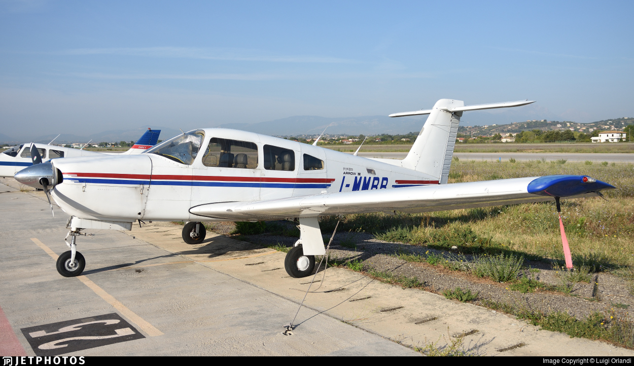 I-MMRR - Piper PA-28RT-201 Arrow IV - Private
