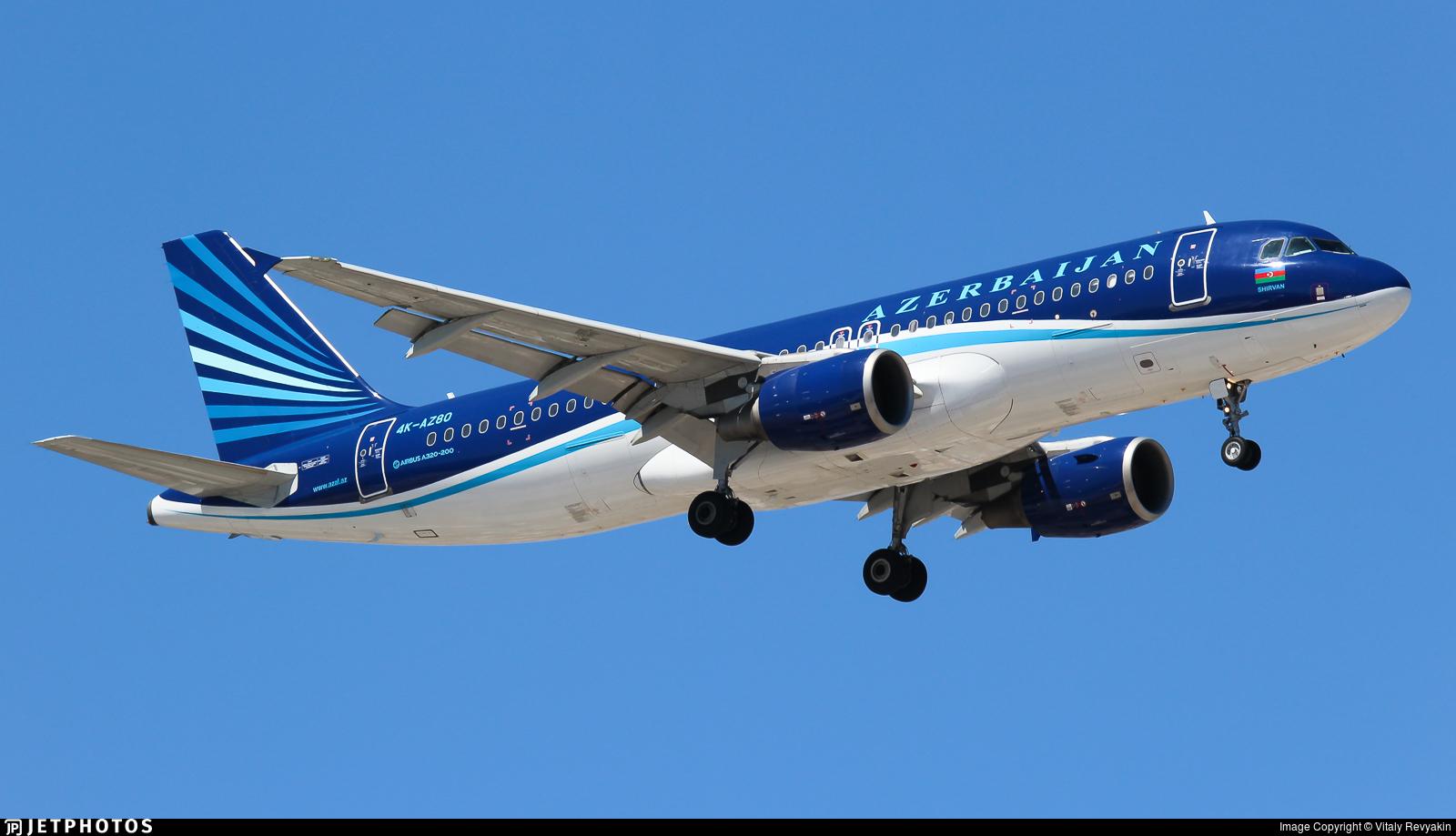 4K-AZ80 - Airbus A320-214 - AZAL Azerbaijan Airlines