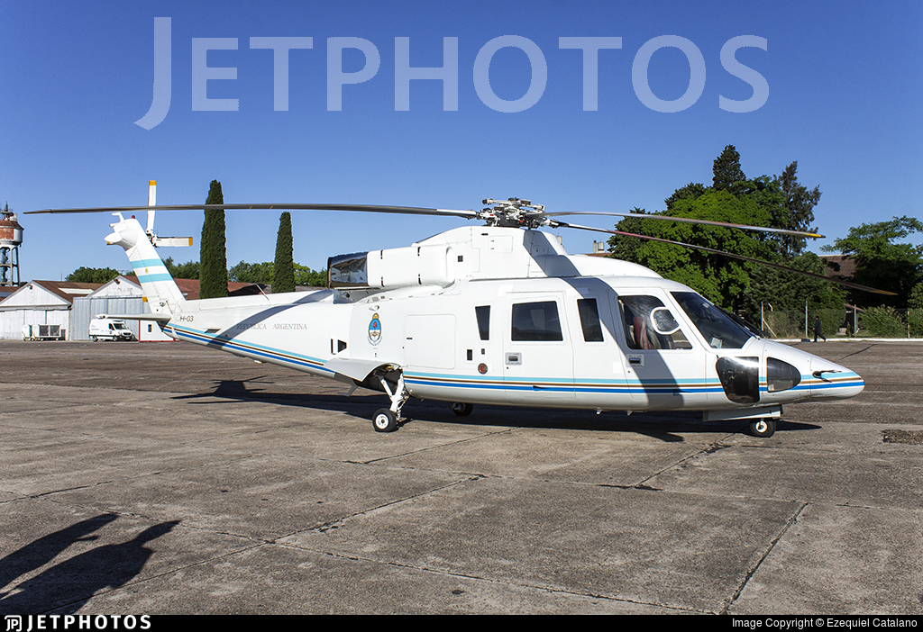 H-03 - Sikorsky S-76B - Argentina - Air Force