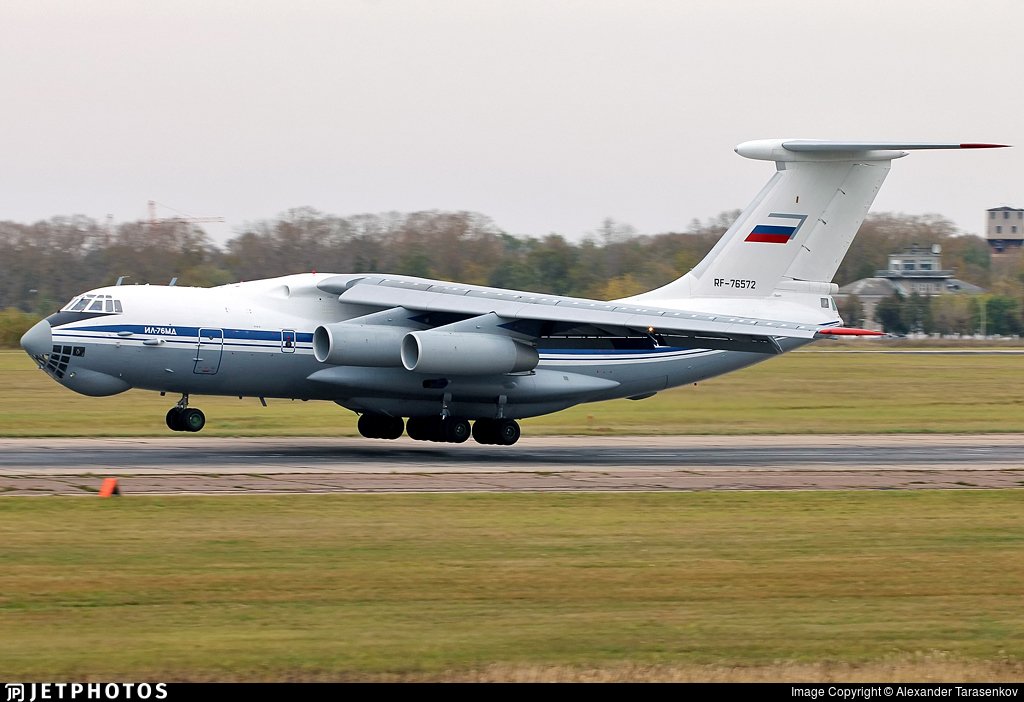 RF-76572 - Ilyushin IL-76MD - Russia - Air Force