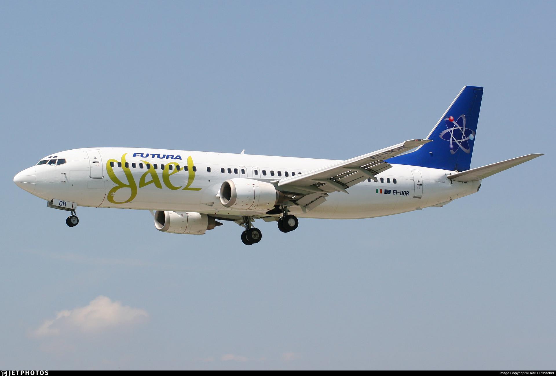 EI-DOR - Boeing 737-4Y0 - Futura International Airways