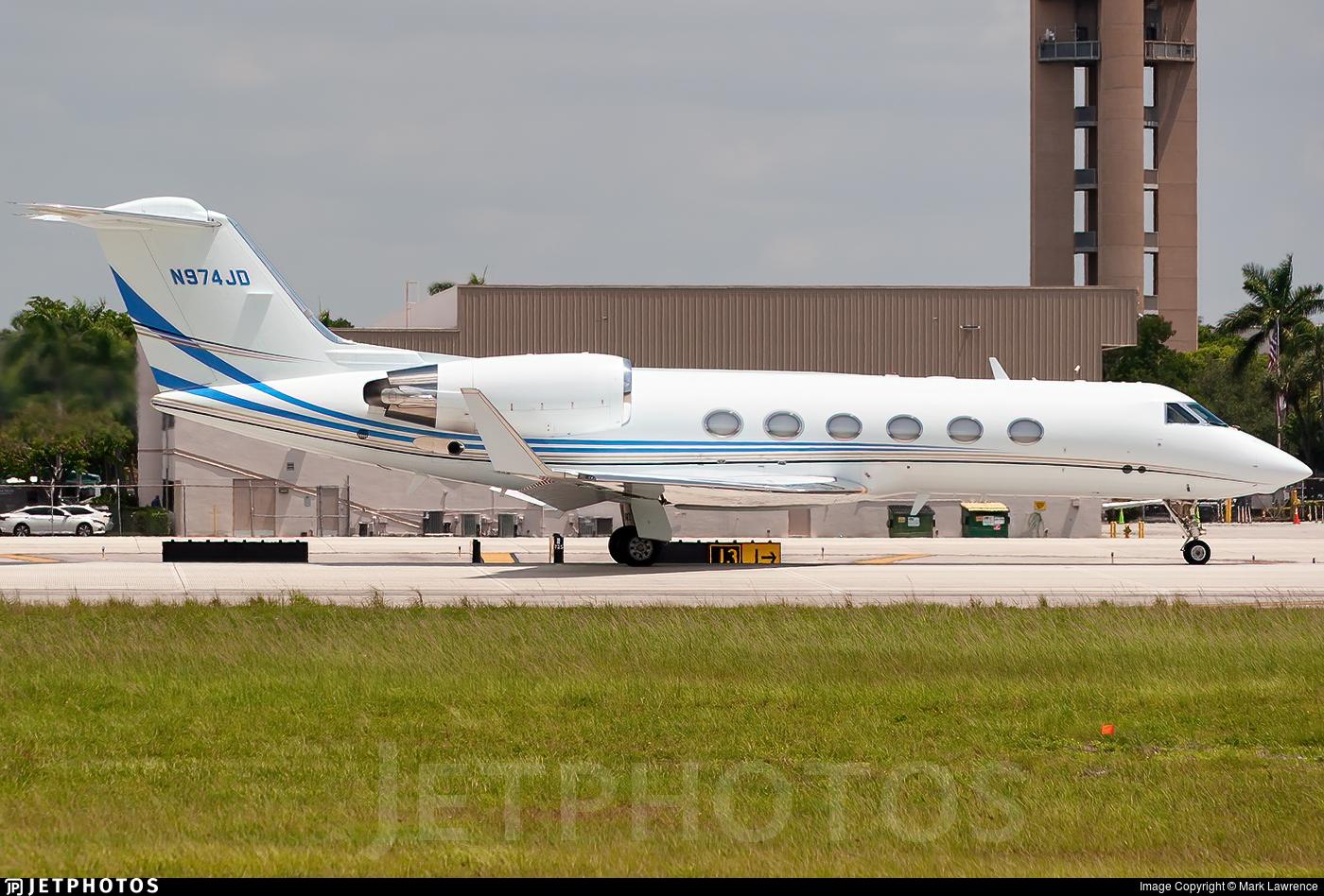 N974JD - Gulfstream G-IV - Private