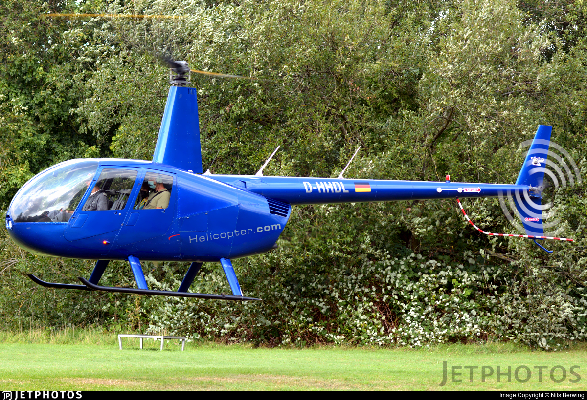 D-HHDL - Robinson R44 Raven II - DL Helicopter