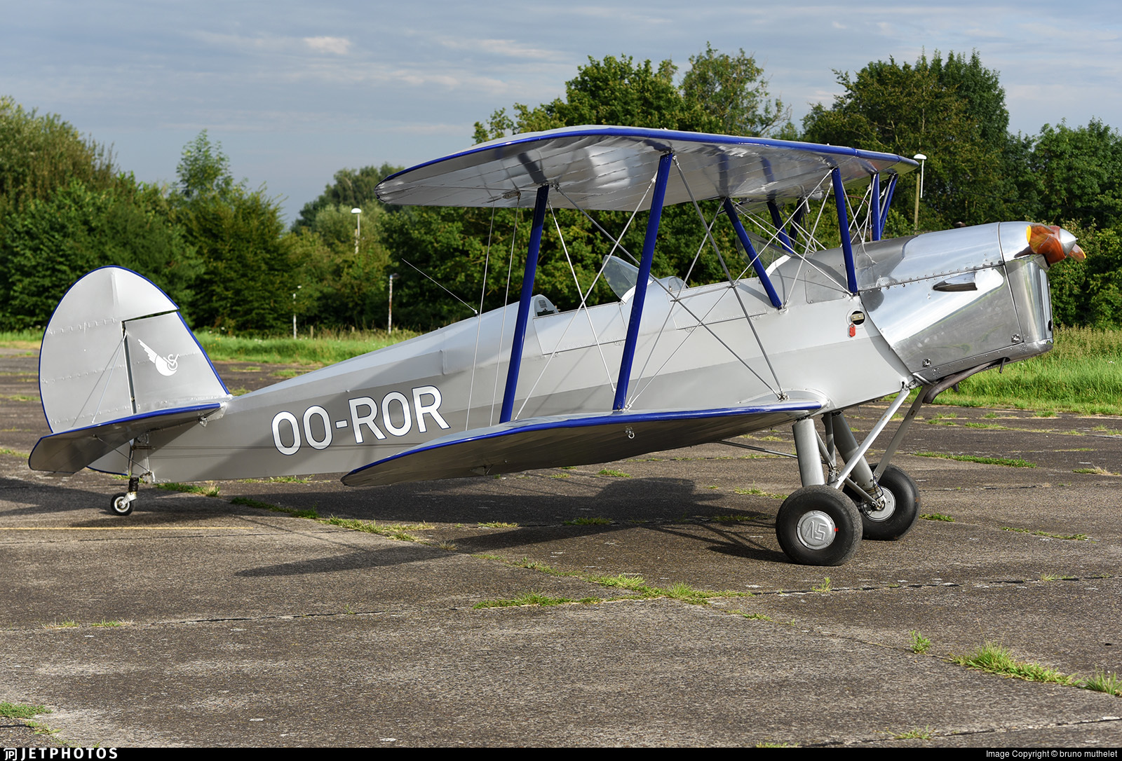 OO-ROR - Stampe and Vertongen SV-4B - Private