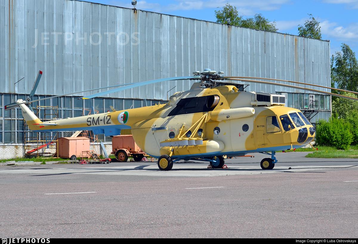 SM-12 - Mil Mi-171Sh Baikal - Algeria - Air Force