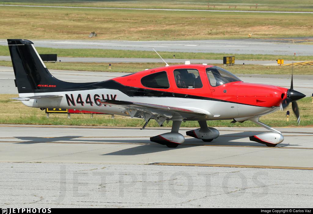 N446HK - Cirrus SR22T-GTS G5 Accelero - Private