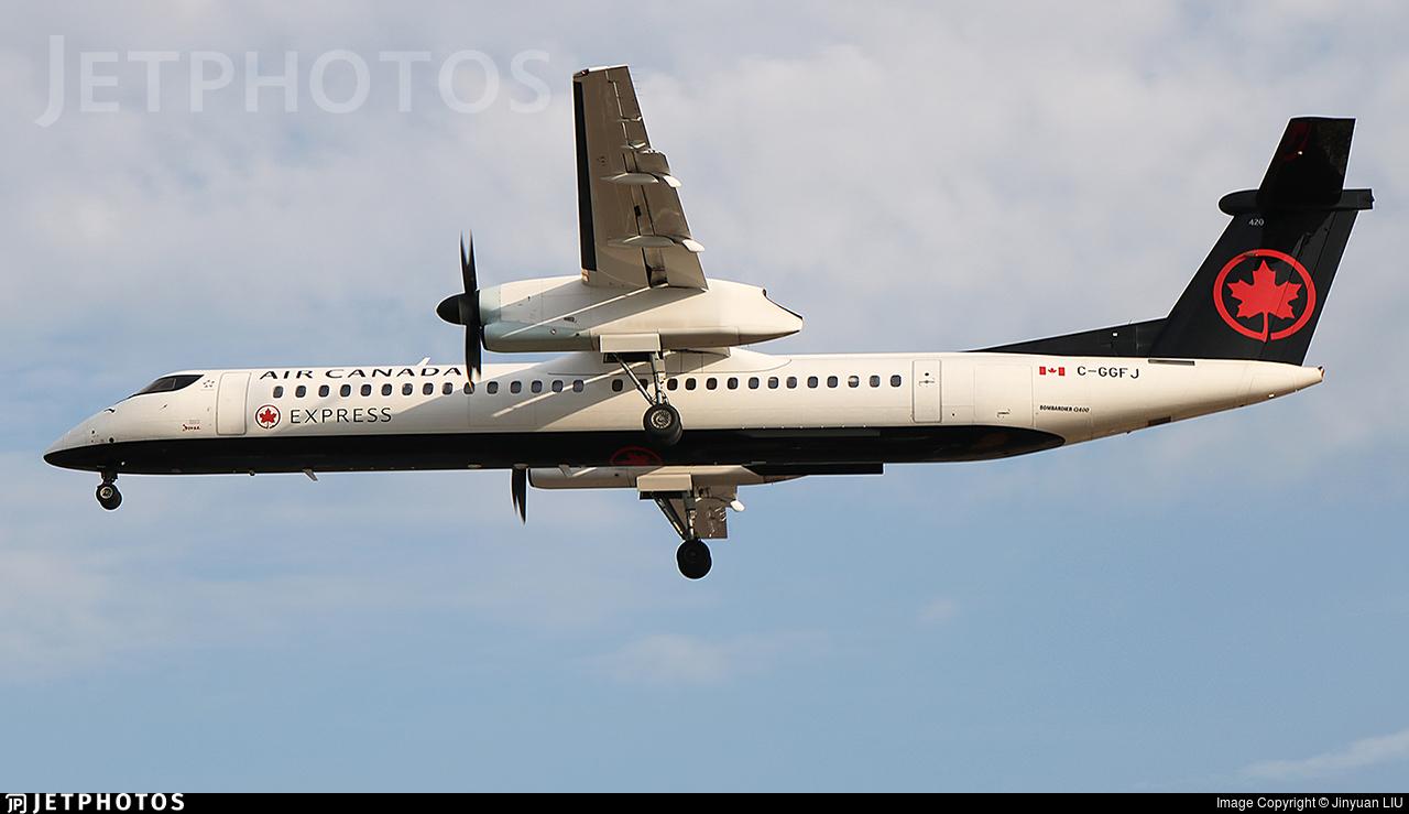 C-GGFJ - Bombardier Dash 8-Q402 - Air Canada Express (Jazz Aviation)