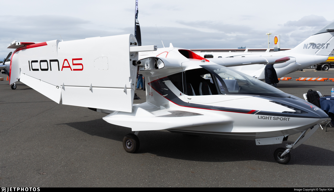 N920BA - Icon A5 - Icon Aircraft