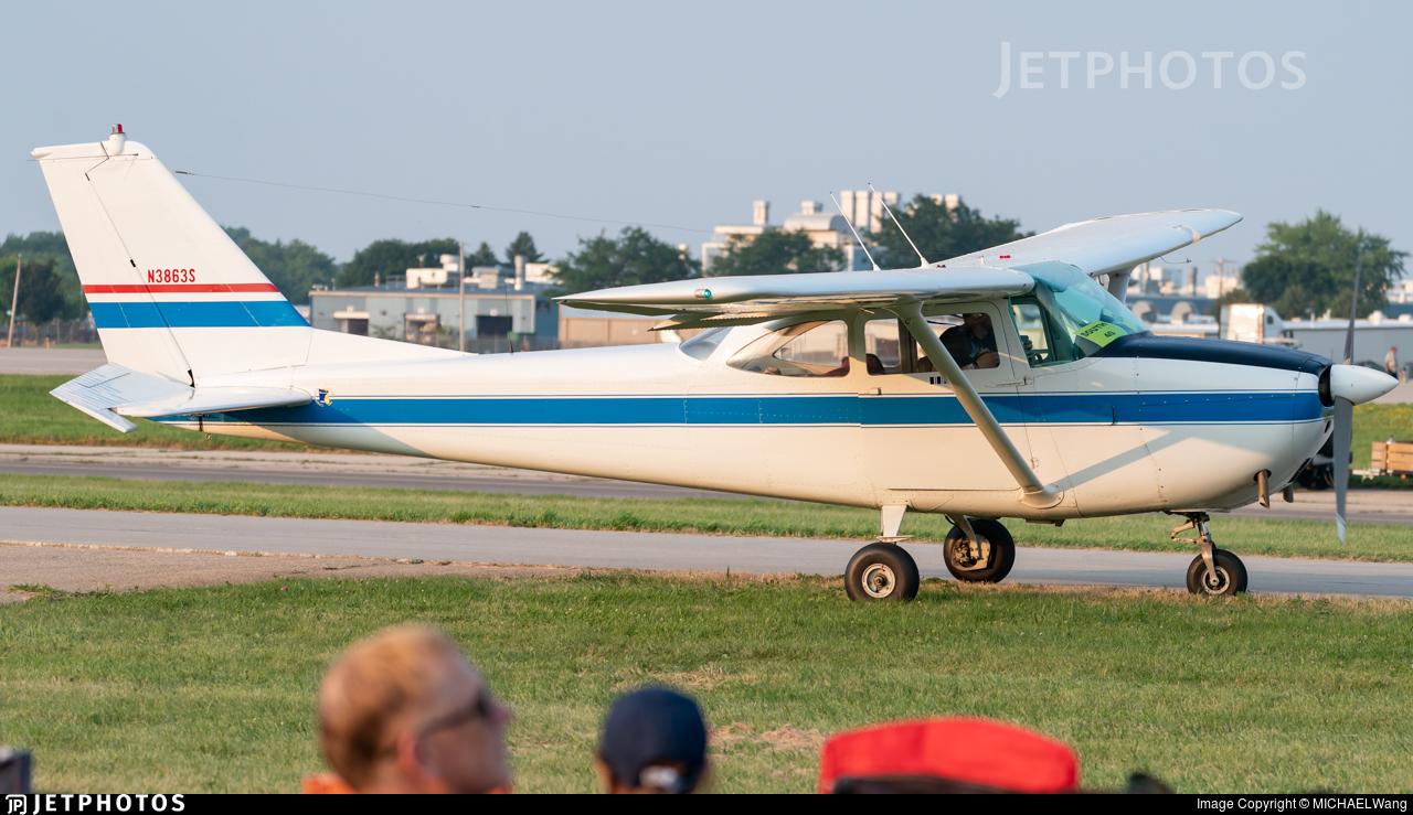 N3863S - Cessna 172E Skyhawk - Private