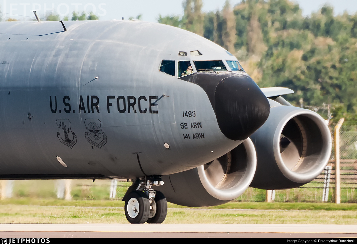 57-1483 - Boeing KC-135T Stratotanker - United States - US Air Force (USAF)