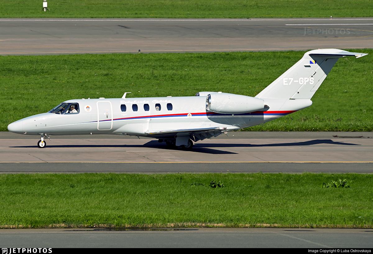 E7-GPS - Cessna 525 Citationjet CJ4 - Serbia - Government