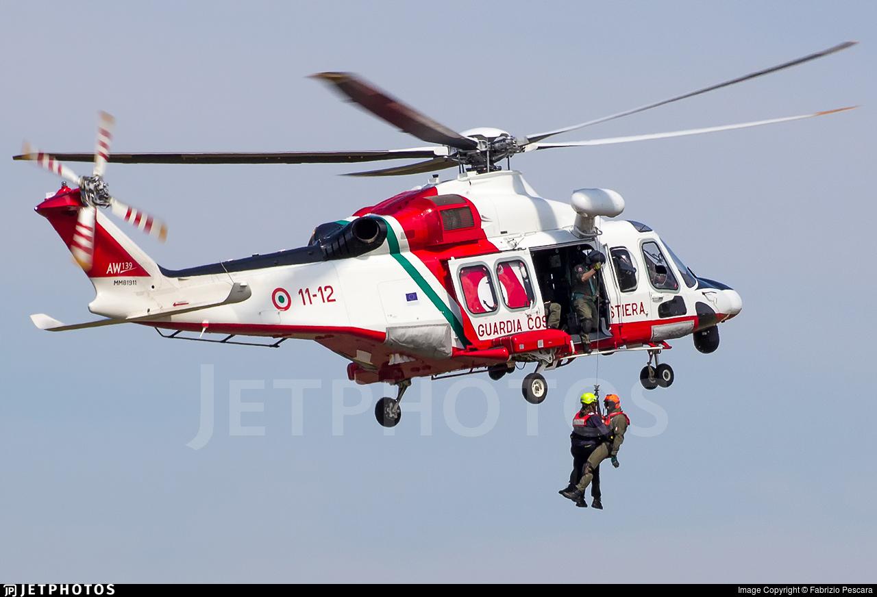 MM81911 - Agusta-Westland AW-139CP - Italy - Coast Guard