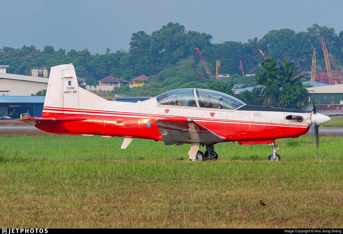M50-08 - Pilatus PC-7 Mk.II - Malaysia - Air Force