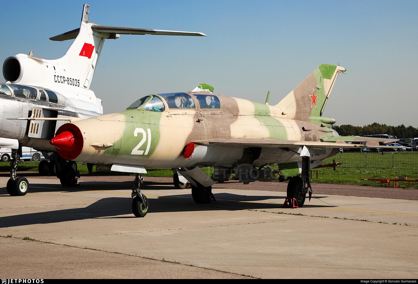 21 - Mikoyan-Gurevich MiG-21UM Mongol B - Soviet Union - Air Force